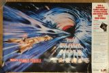 Vintage 1979 Disney The Black Hole UK Wagon Wheels Promo Poster
